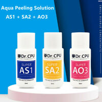 Hydra Machine Aqua Peel Concentrated Solution AS1 SA2 AO3 Facial Serum 3 Bottles
