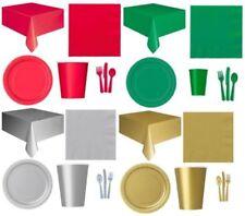 Decoración y menaje platos para mesas de fiesta, Navidad
