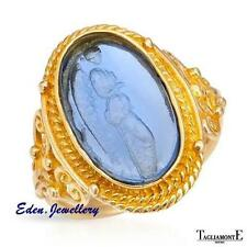 US$2940 Stunning TAGLIAMONTE Ring Venetian Glass 14K Gold Made in ITALY 80% OFF