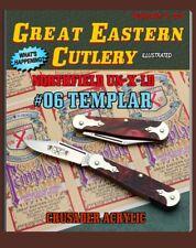 "GREAT EASTERN CUTLERY KNIFE {NORTHFIELD UN-X-LD} #06 TEMPLAR CRUSADER - 2 3/4"""