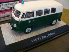 policía de autobús 1/43 premium Classixxs VW T1 verde/blanco 13852