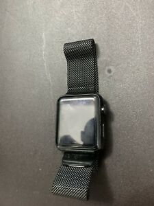 Apple Watch Series 0 38mm Space Gray Aluminum Case, Used, Very Good, Reset
