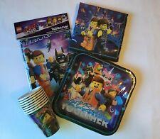 Lego Movie 2 Party Supplies Tableware Bundle Party supplies