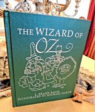 THE WIZARD OF OZ ILLUSTRATED BY MICHAEL HAGUE Easton Press RARE