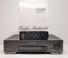 Panasonic nv-hs900 SVHS/S-VHS VIDEO RECORDER REGISTRATORE + FB 12 mesi gewährl.