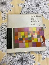 Paul Klee  The Thinking Eye  1961   First Edition