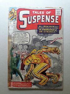 Tales Of Suspense 41 9d u.k 3rd Appearance Of Iron Man 1963