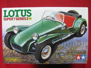 Lotus Super 7 Series II 1/24 Scale Tamiya Plastic Model Kit Rare Classic Car 2