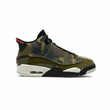 Air Jordan Men's Dub Zero Olive Camo Basketball Shoes 311046-200 AUTHENTIC NEW