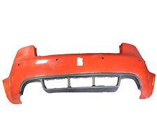 *AUDI RS4 B7 SALOON 2005-2008 RED REAR BUMPER W/ PARKING SENSOR HOLES + VALANCE