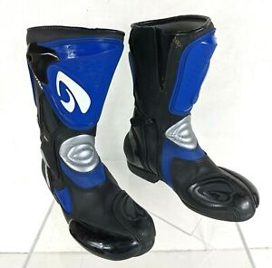 Forma Road Race Revenge Leather Motorcycle Boots Men's Size UK 6, Euro 39