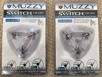 Muzzy Trocar Switch Adjustable Cutting Diameter 3 Blade 100 Grain ( 2 ) - Packs