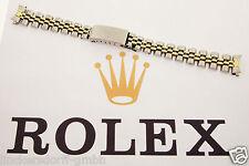 ROLEX DAMEN  JUBILEE ARMBAND - 62523 D & 468 -  EDELSTAHL / GOLD  BRACELET