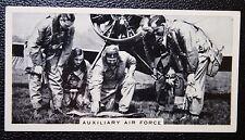 Royal Air Force Hooton Aerodrome No 610 Squadron Vintage Photo Card