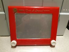 Classic Etch a Sketch Magic Board, vintage drawing toy, 2004 model.