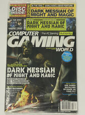 SEALED Computer Gaming World Magazine April 2006 Issue 261 TimeShift Demo Disc