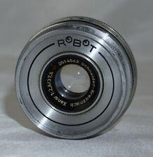 Robot Camera Lens Schneider Kreuznach Xenar f2.8 37.5mm Lens