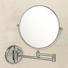 10x Magnifying Makeup Mirror Compact Cosmetic Magnification Bathroom Wall Mount