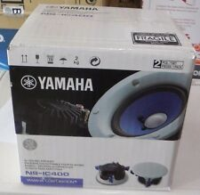"Yamaha NS-IC400WH 4"" In-Ceiling Speaker White ( Pair )"
