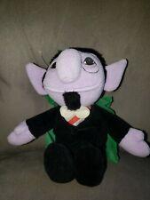 "Tyco 1997 Sesame Street Beans THE COUNT Beanbag Plush Toy 7"""