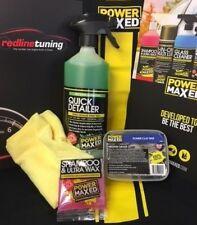 Detailing kit Power Maxed Quick Detailer & Clay Bar kit Microfibre Wash & Wax