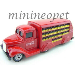 MOTORCITY CLASSICS MCC 424132 1937 COCA COLA DELIVERY BOTTLE TRUCK 1/87 RED