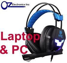 SADES Xpower Plus SA-706s PC Gaming Headset Mic Chat BRAND NEW Genuine FAST SHIP