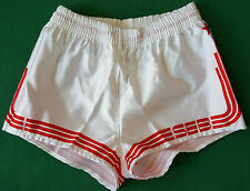 vintage shiny shorts SEB SPORT glanz gay sprinter run adidas trifoil 80 90 sz2 w