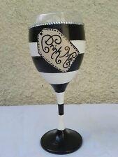 Alice in Wonderland Inspired 'Drink Me' Design Wine Glass