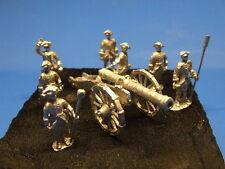 Krieg mit Bedienung Französisches 8 pdr Geschütz 7 jhr Maßstab 1:72