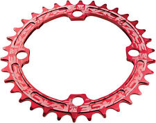RaceFace Narrow-Wide 32T x 104mm Single Chainring 9/10/11-Speed Ring MTB - RED