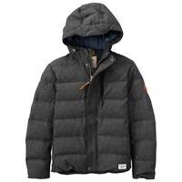 NWT Timberland Men's Goose Eye Twill Down Jacket Extra Heavy Warm Coat Reg. $228