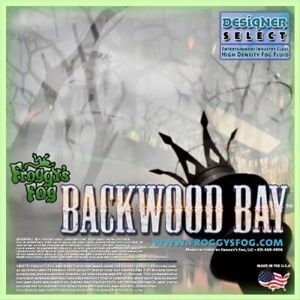 Froggy's Fog Backwood Bay Fog Juice (5 Litre) - Now Available In The UK