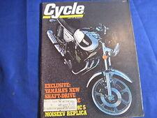 CYCLE MAGAZINE-JUNE 1976-PENTON 250MC5-YAMAHA XS750D-JIM POMEROY-SUZUKI GT185-