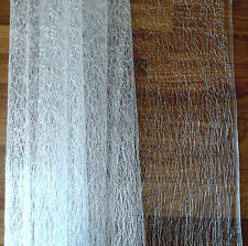 PURE WHITE SPIDERS WEB/ANGEL HAIR 1.5 METRES X 30CM approx