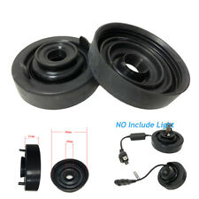 Pair 80mm Car LED HID Lamp Rubber Housing Reseal Seal Cap Dust Cover Waterproof