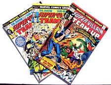 Super-Villain Team-Up 2 3 4 VF- 7.5 Marvel 1976 3 Book Lot Submariner Dr Doom