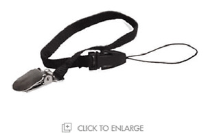 Pedometer Safety Leash for Pedometers | Prevents Loss | Metal Clip | Strap