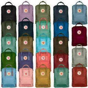 7L/16L / 20L Zaino Marca Fjallraven Kanken viaggio spalla scuola Unisex Backpack