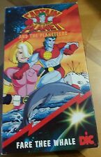 captain planet fare thee whale vhs very rare cartoon