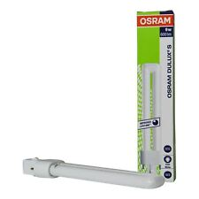 Lot of 10 Osram Dulux S Compact Fluorescent Lamp 840 G23 9W Cool White