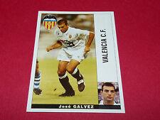 JOSE GALVEZ FUTBOL VALENCIA CF PANINI LIGA 95-96 ESPANA 1995-1996 FOOTBALL