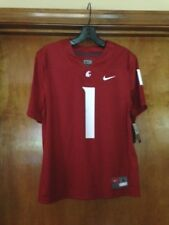 Nike Washington State Replica Jersey #1 Crimson Size Youth M 10/12 Nwt Msrp $55.