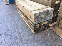 Treated Pine H4 90 x 90 Decking Post Stumps Bearer Joist Merbau Spotted Gum