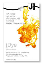 Jacquard iDye Fabric Dye Natural Fibres  14g  - Gold Yellow