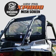 Deuce USA POLARIS RZR 2018-2015 xp1000 Rear Window Dust Screen  Ballistic Nylon