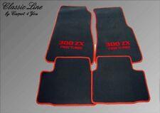 Fußmatten für Nissan 300ZX Twin Turbo Vel. Logo 103, 300 zx Fussmatten