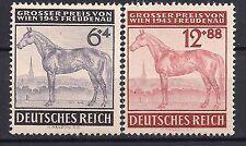 Nazi Germany Third Reich Mi# 857-858 MH Grand Prix, Vienna 1943 *
