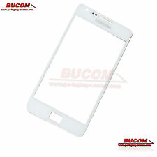 Samsung Galaxy S2 SII Front Glass Panel Front Scheibe Display Glas weiß white