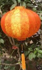 Lampion Seide lampen (Orange)